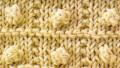 Kabartmalı Örgüler Kutuda Patlamış Mısır