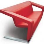 Modern Dekoratif Eşyalar  modern kırmızı koltuk