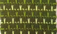 Yeşil Fasulye Örgü Deseni