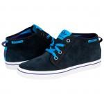 adidas mavi spor ayakkabı yarım bot modelleri