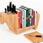 bıçak depolama ve kitaplık tasarımı