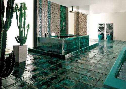 Banyo Fayans Yeni Bonyo Dekoratif Seramik Modeli