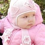 bebekler için bere örneği