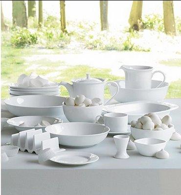 beyaz porselen marks spencer yemek takımları