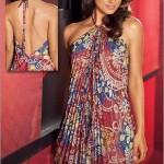 boyundan askılı sırt dekolteli 2011 Yeni Moda Tunik Modelleri