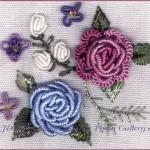 brezilya nakışı çiçek deseni örnegi