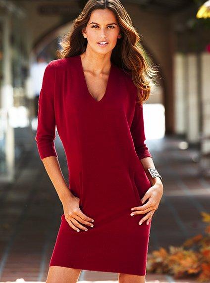 cepli kırmızı elbise  2012 trend modeller