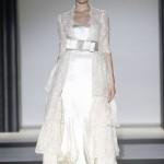 dantelli fiyonklu elbise modeli 2012