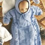 el örgüsü bebek uyku tulumu