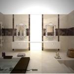 en şık banyo searmik dekoru 2012