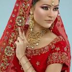 en güzel kırmızı gelinlik modeli