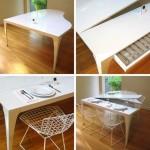 en güzel katlanır masa tasarımları
