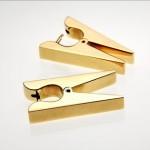 en tarz mandal altın küpe modeli