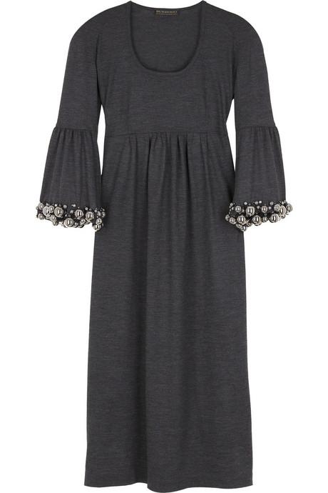 en yeni belden kesik modern kışlık elbise