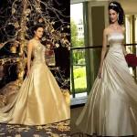 en yeni kabarık elbise modelleri 2012