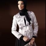 fırfırlı beyaz ceket