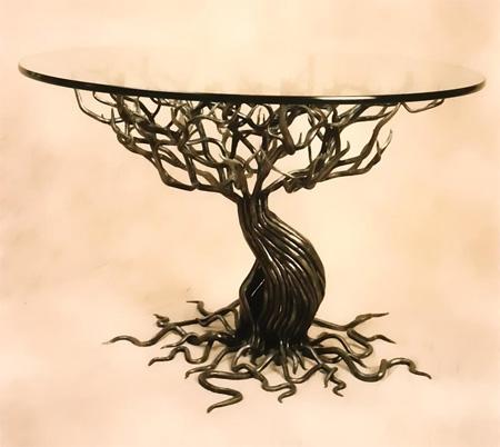 farklı ağaç kökü dekoratif orta sehpa