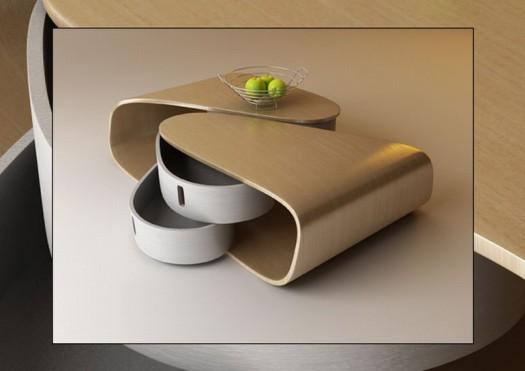 farklı dizayn çekmeceli sehpa modelleri