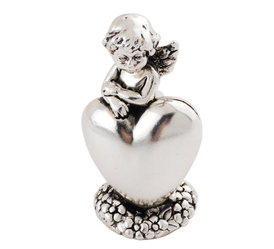 gümüş kalpli melek biblosu hediyelik eşya 2012