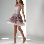 genç kızlr için straplez elbise modelleri