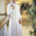 hakim yaka çiçekli beyaz 2011 ilkbahar yaz moda pardesü