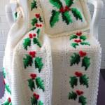 işlemeli tek şiş bebek battaniye