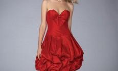 Fiyonklu elbise modelleri