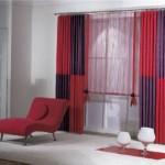 kırmızı tül brillant perde modelleri 2012