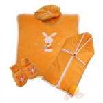 kadife bebek uyku tulumu battaniyeli set