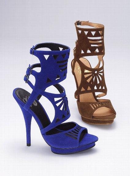 kafesli süet ayakkabılar
