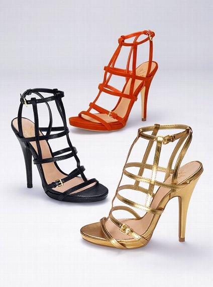 kafesli yazlık ayakkabı trendleri