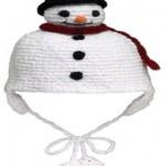 kardan adam şapka örneği