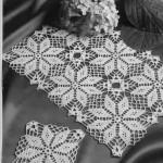 kare motifli salon takımı danteli örnekleri