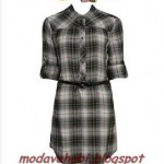 kareli hakim yaka 2011 Yeni Moda Tunik Modelleri