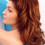 katlı kahverengi saç rengi