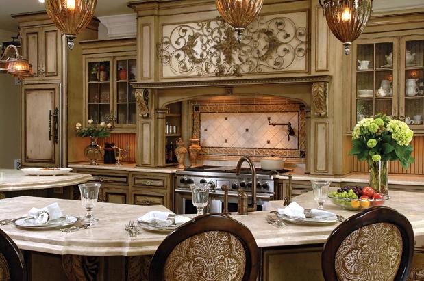 American Style Interior Klasik K Amerikan Mutfak Tasar M