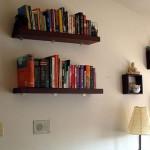 klasik ahşap kitaplık tasarımı