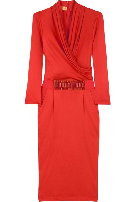 klasik kışlık elbise modeli