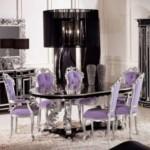 klasik lüx yemek masası tasarımı