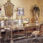 klasik yemek masası italyan mobilya