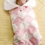 kumaş fermuarlı bebek uyku tulumu model ve örneği