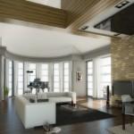 lüks modern ev dekorasyon modelleri
