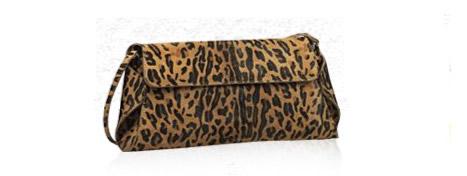leopar abiye şık el çantası modelleri
