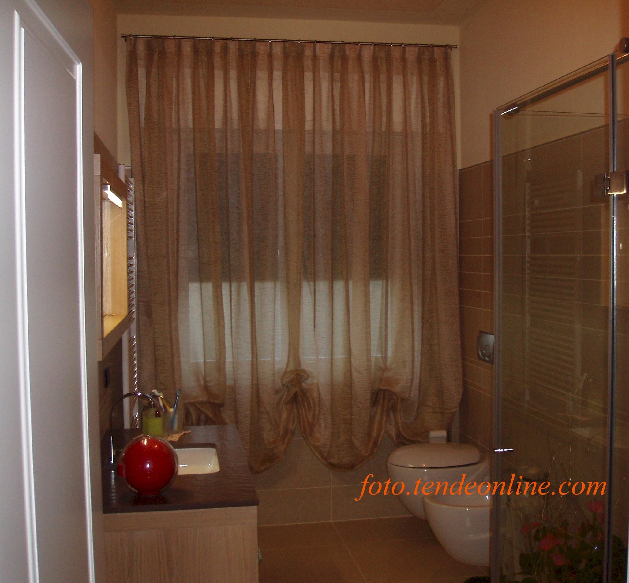 Blu creativo letto da camera - Tende per bagno classico ...
