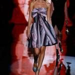 modern  2012 fiyonklu elbise modeli
