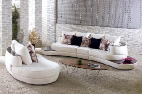 modern beyaz koltuk takımı