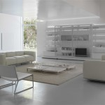 modern italyan mobilya ev dekorasyon örneği