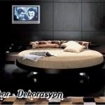 modern italyan yatak odası modeli