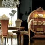 modern lüks ev dekorasyon yemek odası örnekleri