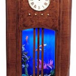 modern saat akvaryum tasarımı